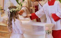 Iwtorek-modlitwa zadzieci przygotowujące się doIKomunii Świętej
